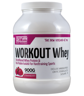 Workout Whey Sabores-900g Fresa