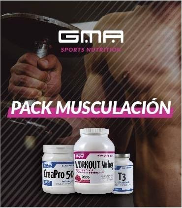 Pack Musculación
